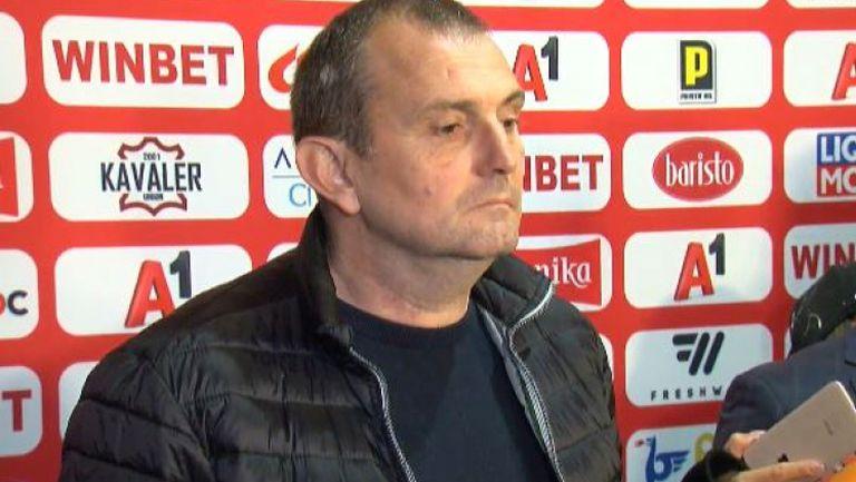 Загорчич: Перфектно първо полувреме, заслужен успех на ЦСКА