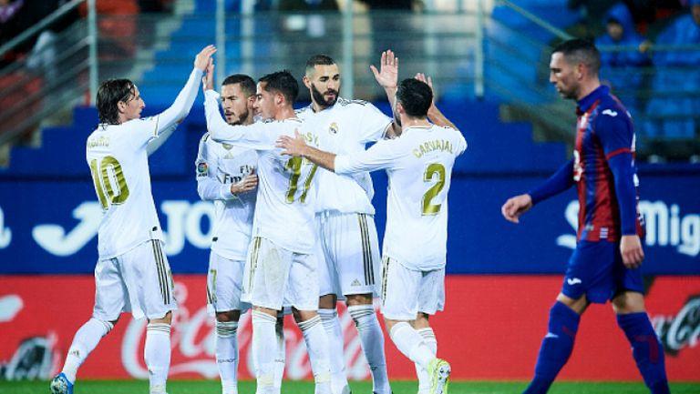 Реал Мадрид продължи торнадото - вкара 10 гола за 4 дни