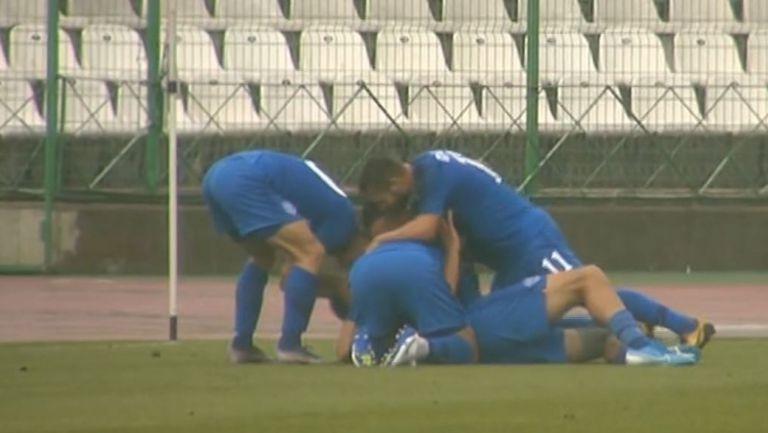 Радослав Василев откри резултата за Арда срещу Берое от дузпа