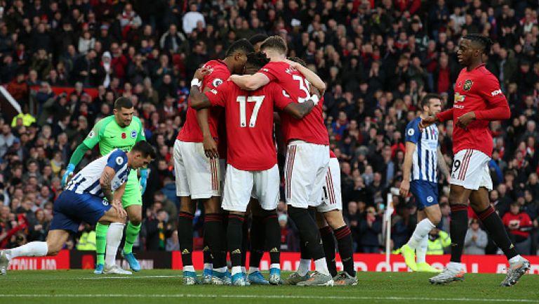 Манчестър Юнайтед - Брайтън 3:1