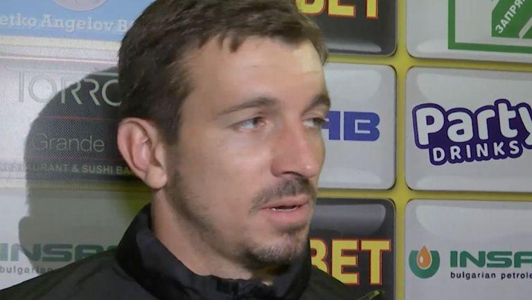 Янко Георгиев: Повярвахме в себе си и успяхме да надвием Левски