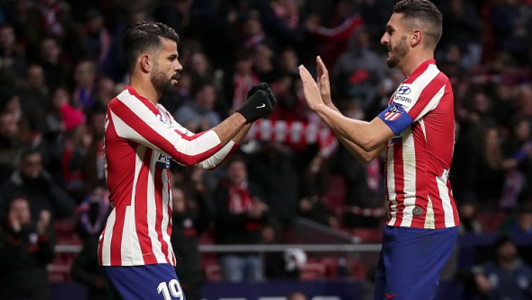Атлетико Мадрид - Еспаньол 3:1