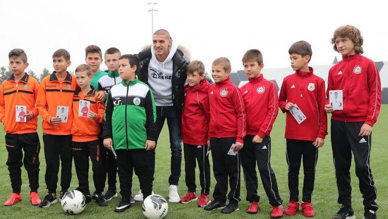 Кирил Десподов към млади таланти: Най-важното за един футболист е да има самочувствие
