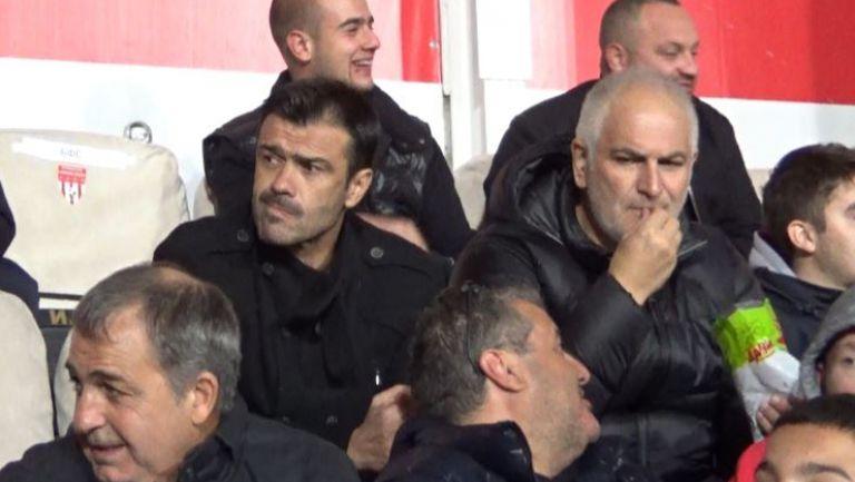 Цанко Цветанов и Росен Кирилов наблюдават срещата Царско село - Дунав