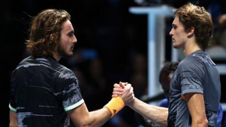 Циципас на полуфиналите на ATP Finals
