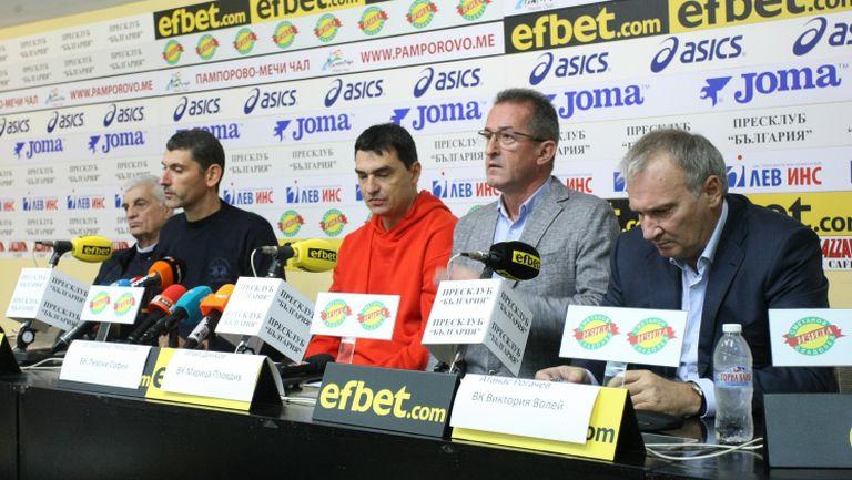 Александър Попов: Преговаряме с трима кандидати за председател