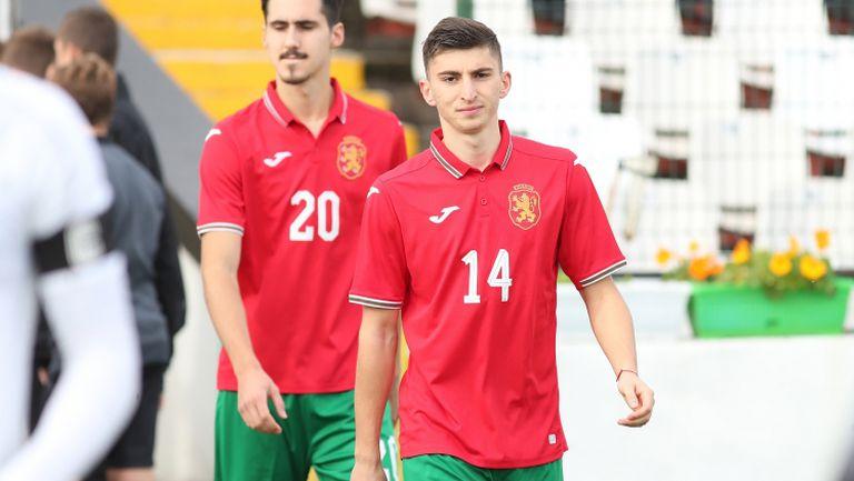 Великолепен самостоятелен пробив на Светослав Ковачев изведе България U21 напред срещу Славия