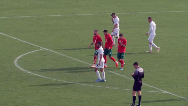 Здравко Димитров елегантно прехвърли Георги Петков и България U21 поведе отново срещу Славия