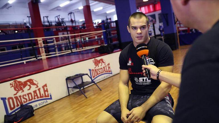 Живко Стоименов пред Sportal.bg: Мечтая за UFC