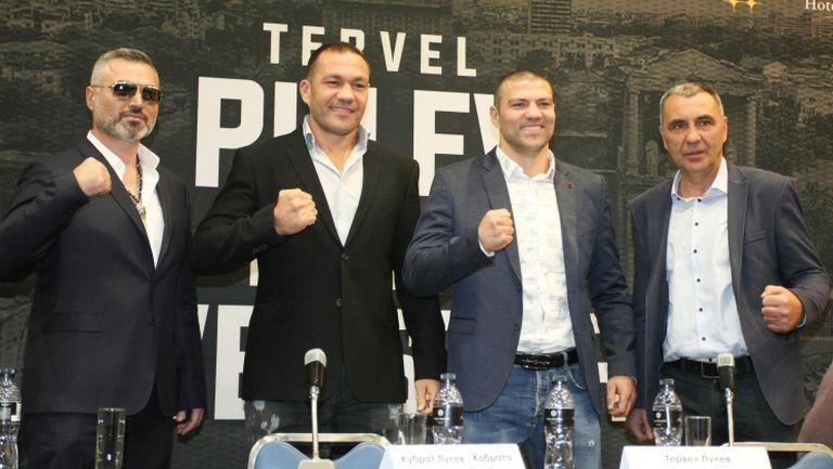 Кубрат и Тервел Пулеви говорят преди боксовата гала в Пловдив на 14 декември