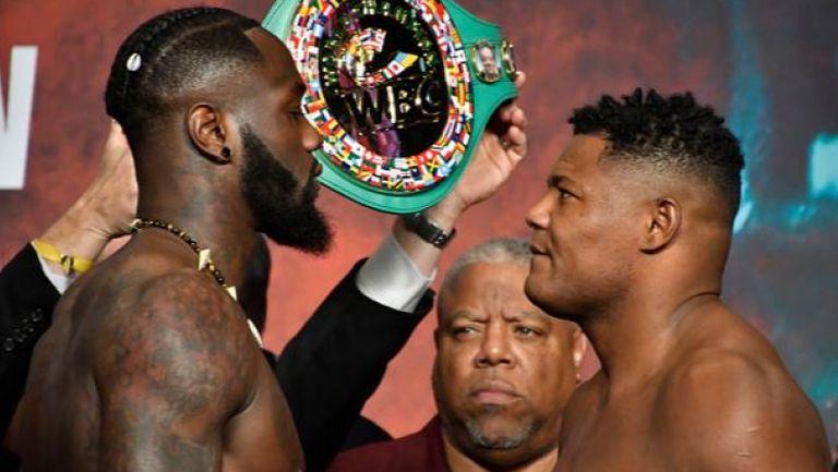 Ортис е с над 7 кг по-тежък от Уайлдър преди реванша