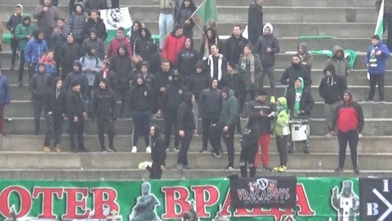 Агитката на Ботев (Враца) срещу ЦСКА-София