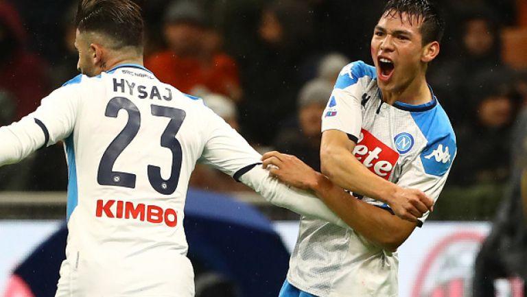 Милан и Наполи не се победиха в дербито на кръга в Серия А