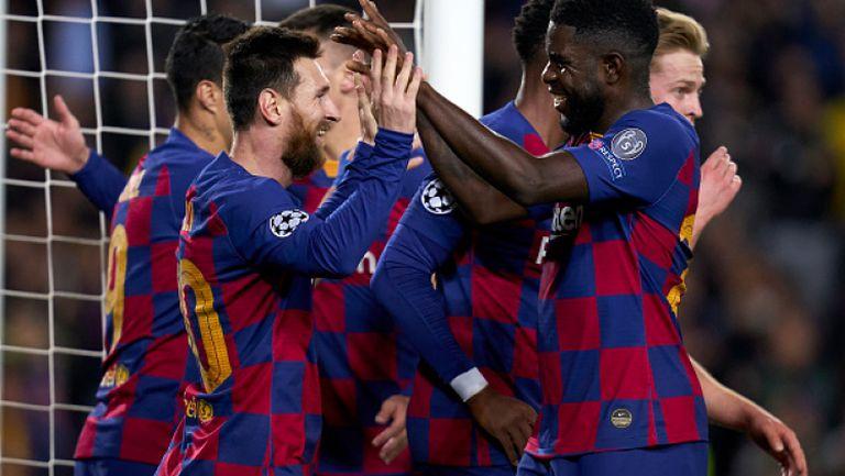 Барселона - Борусия Дортмунд 3:1