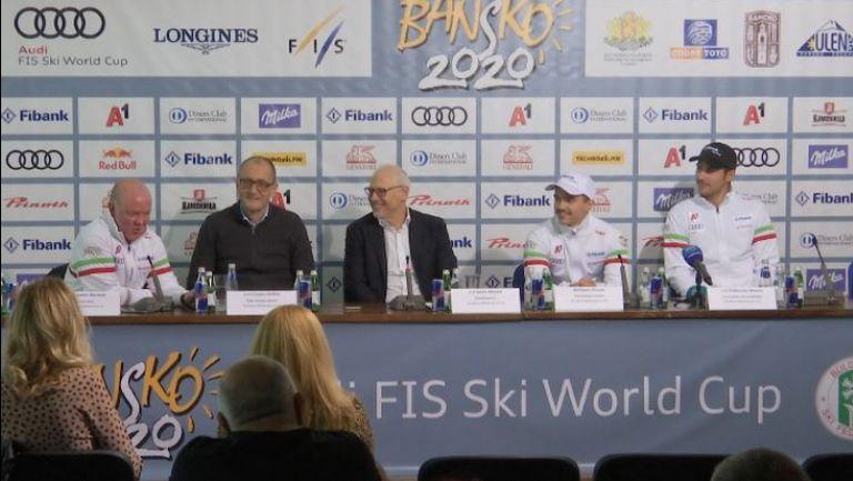 Пресконференция на БФСки с Радослав Янков и Алберт Попов