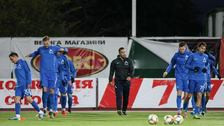 С капитан Камбуров Берое ще притеснява Левски в съботното дерби