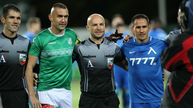 """Кошмарът Камбуров отново наказа Левски, """"сините"""" обаче спряха серията от загуби с Берое"""