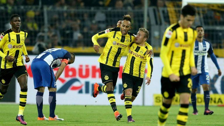 Дортмунд със скъпоценен успех срещу Херта
