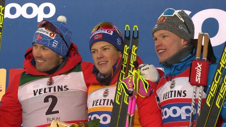 Норвежки триумф в Рука