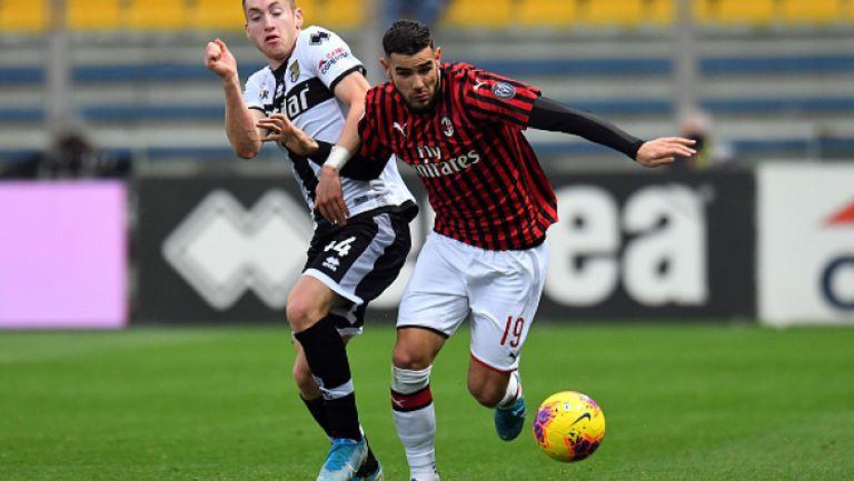 Парма - Милан 0:1