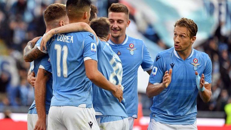 Лацио с шеста поредна победа