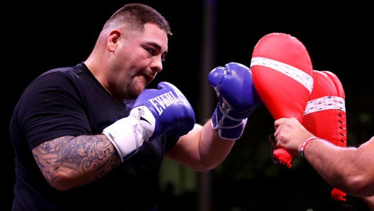 Анди Руис проведе открита тренировка преди реванша срещу Джошуа