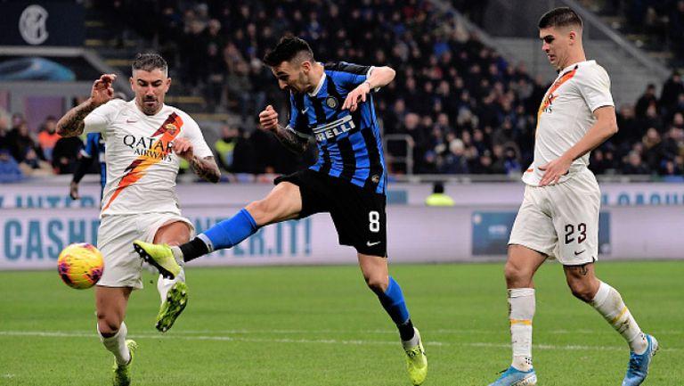 Рома спря победната серия на Интер