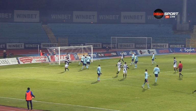 Дунав - Локомотив (Пловдив) 0:3
