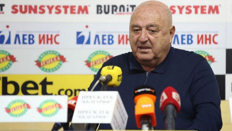 Венци Стефанов: Колкото повече даваме шанс на нашите деца, толкова по-добър футбол и национален отбор ще имаме