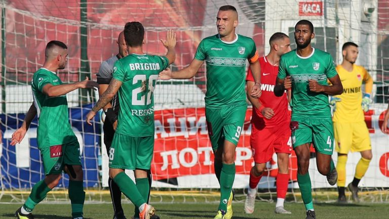 Берое не остави шанс на Царско село, Мартин Камбуров с нов гол в efbet Лига