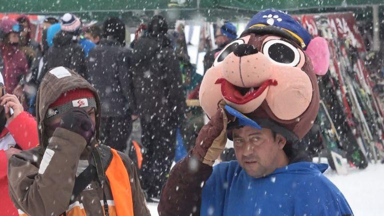 Зимна приказка за откриването на сезона в Банско