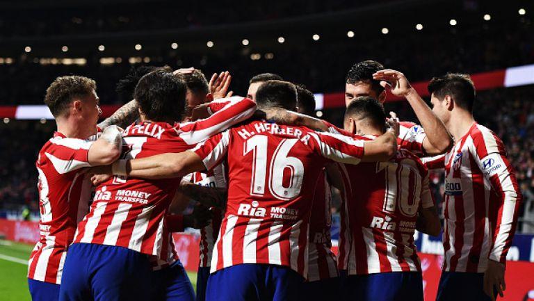 Атлетико Мадрид - Осасуна 2:0
