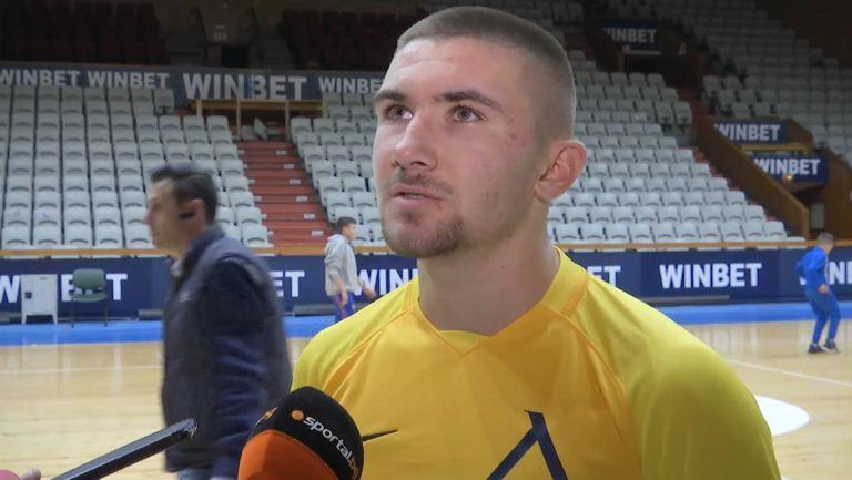 Мартин Петков: Вярваме в спечелването на титлата и Купата на България