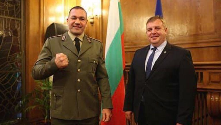 Пулев след повишението: За мен е чест да съм част от Българската армия