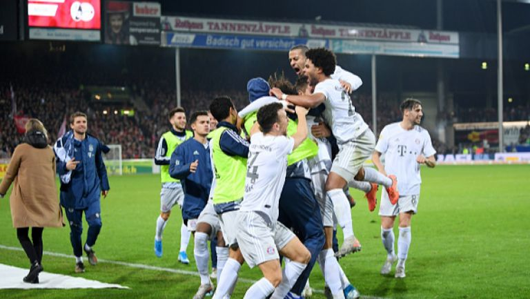 Фрайбург - Байерн Мюнхен 1:3