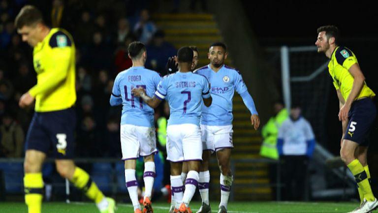 Оксфорд Юнайтед - Манчестър Сити 1:3
