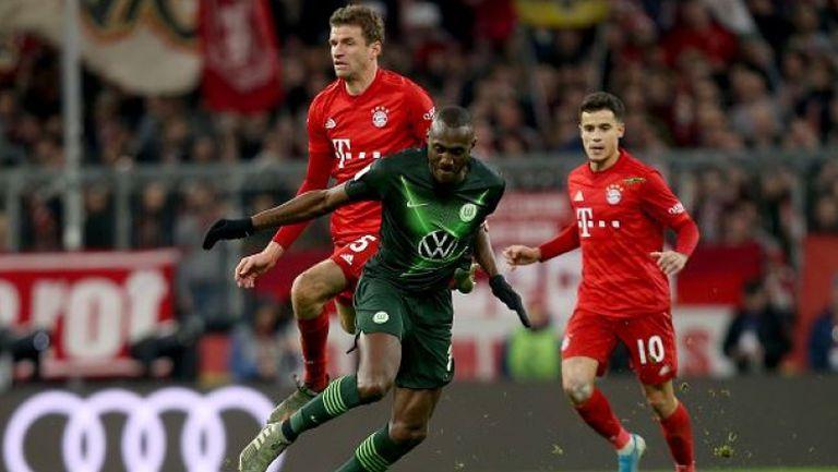 Байерн Мюнхен - Волфсбург 2:0
