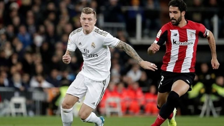 """Реал Мадрид """"счупи"""" гредите, но така и не вкара срещу Атлетик Билбао"""