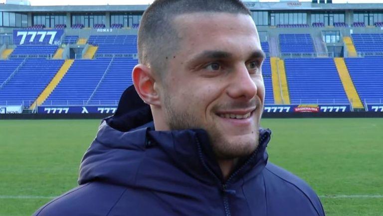 Деян Лозев: Радвам се, че ще защитавам цветовете на най-големия отбор в България