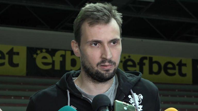 Виктор Йосифов: Очаквам да играем добре, но няма да е лесно