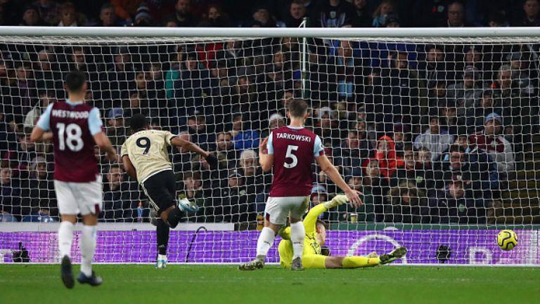 Бърнли - Манчестър Юнайтед 0:2