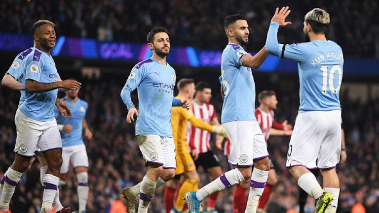 Манчестър Сити - Шефилд Юнайтед 2:0