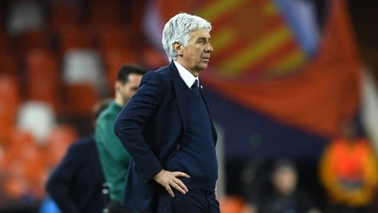 Треньорът на Аталанта бил заразен с COVID-19 преди реванша срещу Валенсия
