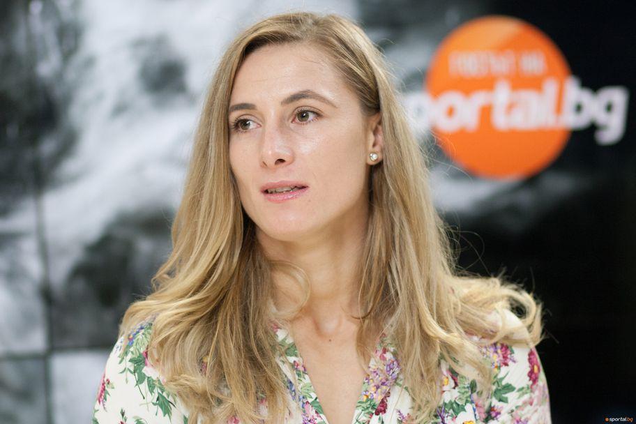 Ивелина Илиева гостува в студиото на Sportal.bg