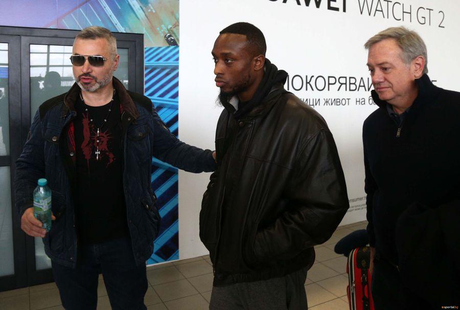 Съперникът на Тервел Пулев - Дешон Уебстър пристигна в България