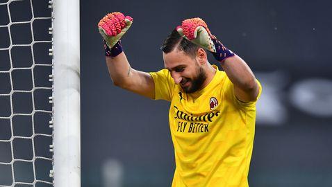 Последно признание за Донарума като играч на Милан