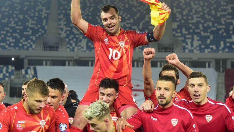 Северна Македония сменя екипите си за Евро 2020 след протест на фенове и звезди