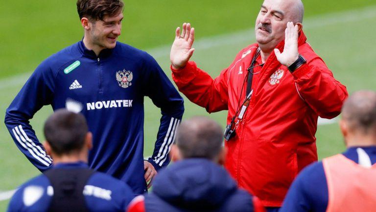 Трима основни играчи пропускат приятелския мач на Русия срещу Полша
