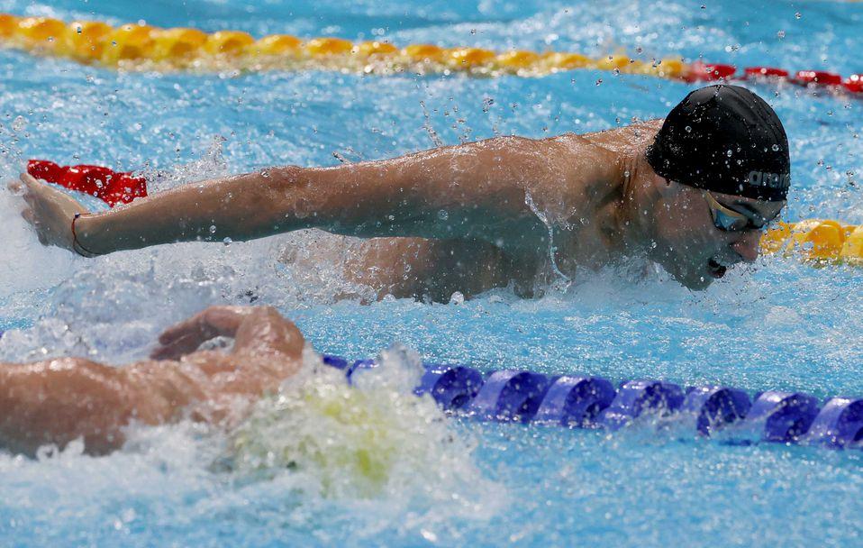 Йосиф Миладинов остана осми във финала на 100 метра бътерфлай