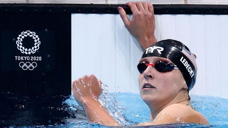 Ледецки защити олимпийската си титла на 800 метра свободен стил, взе четвърто отличие в Токио